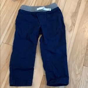 Toddler boy navy cargo pants
